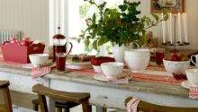 Christmas Table Decorating Ideas Dining Room