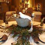 Christmas Table Decorations Entertaining Ideas Party