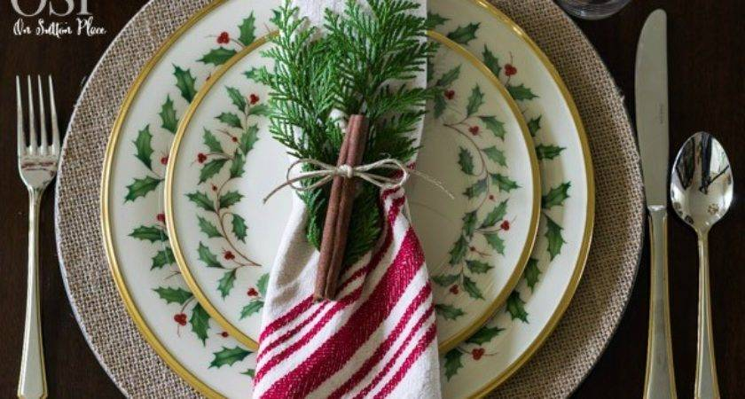 Christmas Table Setting Ideas Sutton Place