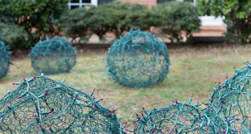 Christmas Yard Decorations Easy Crafts Homemade