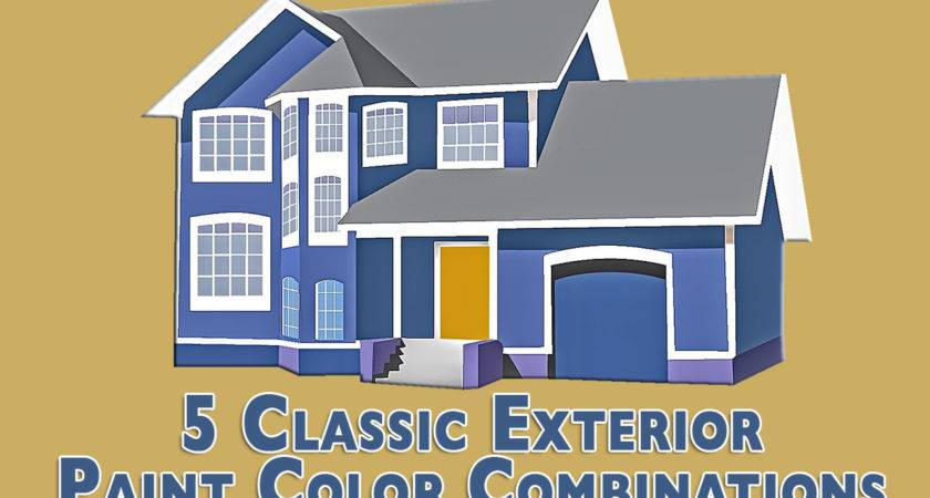 Classic Exterior Paint Color Combinations
