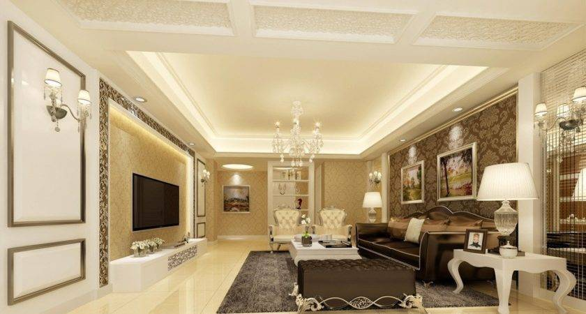 Classic Living Room Ceiling Design House