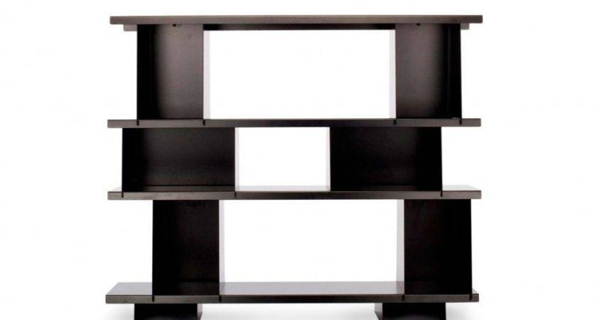 Classy Black Finished Custom Handmade Modern Wall Shelves