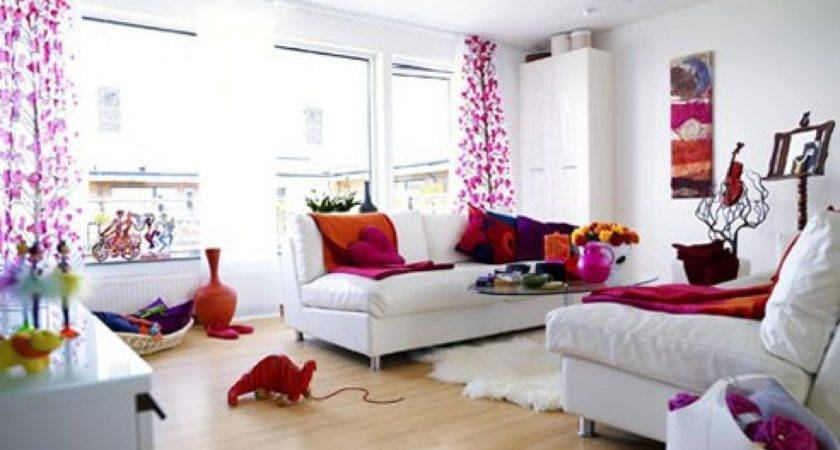 Classy Cheerful Pink Room Decor Ideas Home Furniture