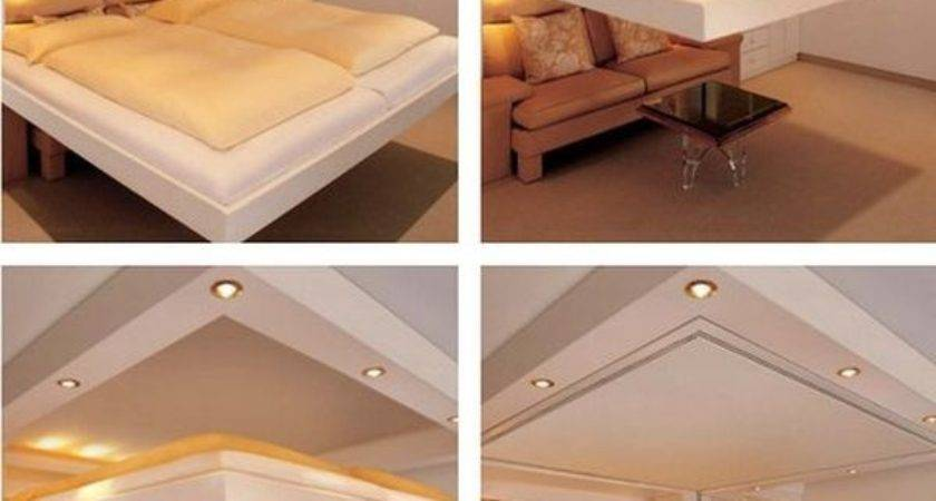 Clever Space Saving Beds Which Can Slide Away Hide