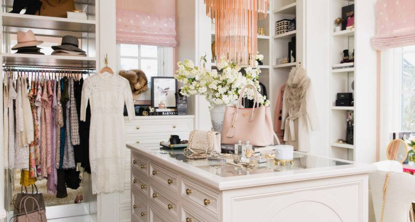 Closet Revamp Pink Peonies Rach Parcell