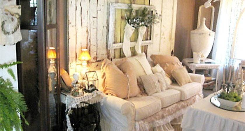 Coastal Shabby Chic Decor Living Room Top Easy