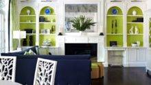 Color Crush Navy Green Driven Decor