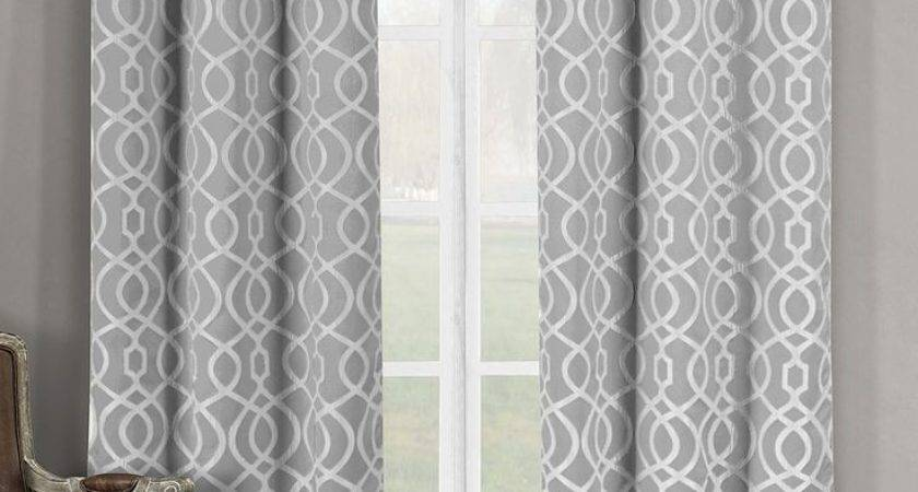 Color Curtains Look Good Grey Walls Curtain