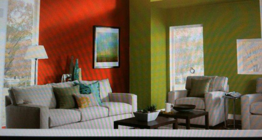 Color Does Orange Red Make Green Living Room