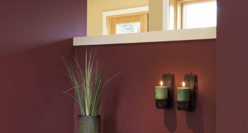 Color Month Decorating Burgundy Abode