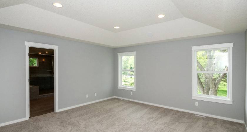 Color Walls Grey Carpet Dark Bedroom Gray