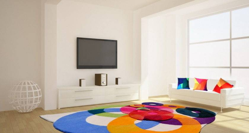 Colorful Area Rugs Unique Living Room
