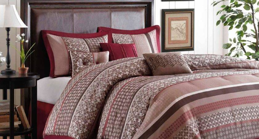 Colormate Piece Red Brown Jacquard Princeton Woven