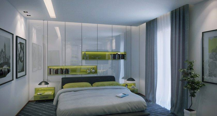 Contemporary Apartment Bedroom Modern Decor Olpos Design