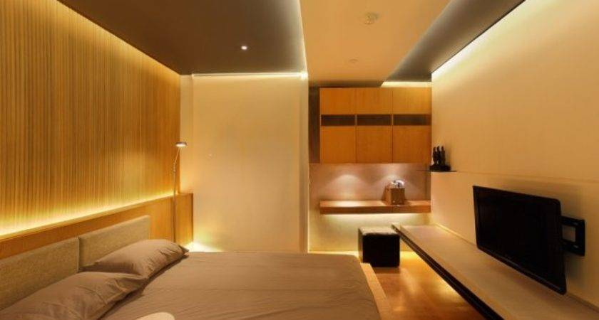 Contemporary Bedroom Small Apartment Interior Design Ideas