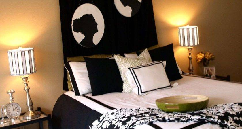 Contemporary Master Bedroom Black Furniture