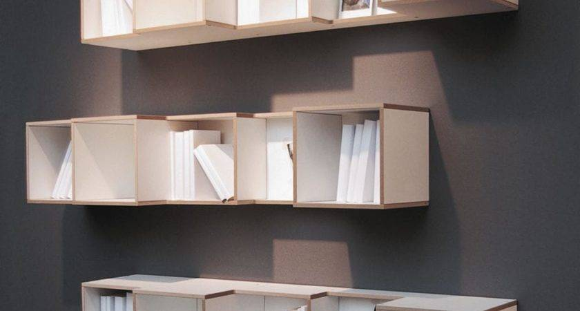 Contemporary Wall Shelf Home Design
