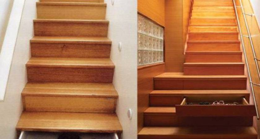 Cool Examples Hidden Storage Under Stairs
