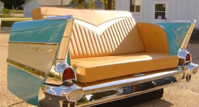 Cool Furniture Made Old Car Parts Drivespark