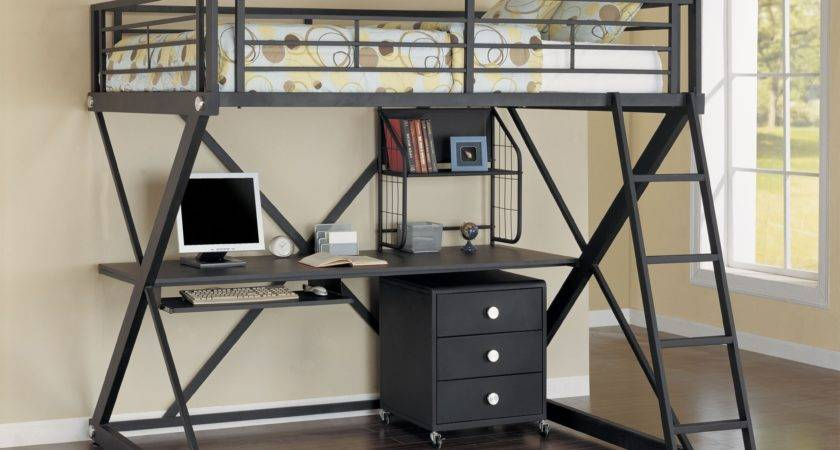 Cool Loft Bed Desk Designs Ideas Decofurnish