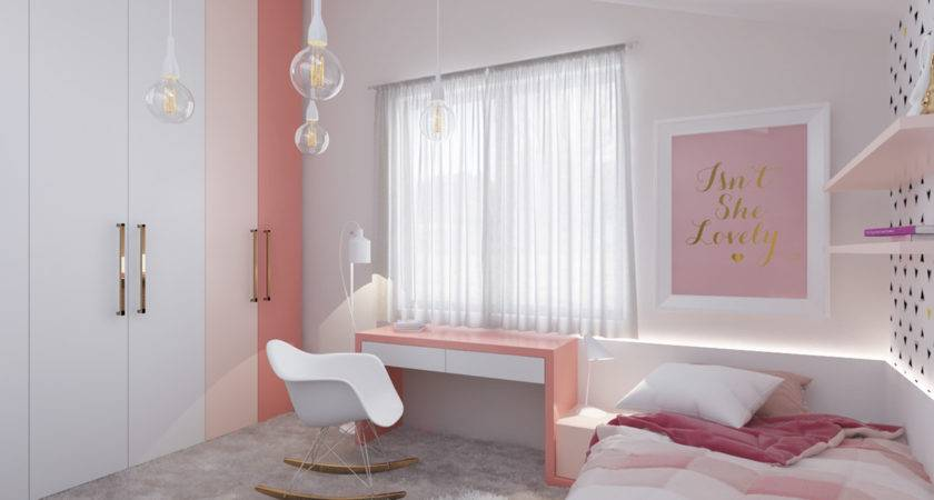 Cool Teenage Girls Bedroom Ideas Minimalist Concept