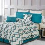 Coral Black Teal Bedroom Imgkid