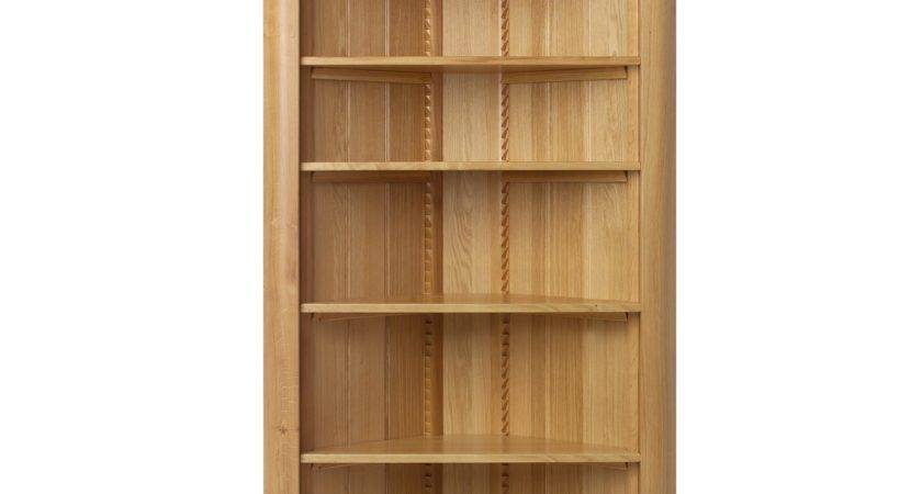 Corner Book Shelf Large Wooden