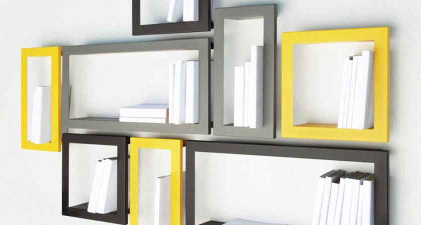 Corner Shelves Designs Space Saving Contemporary Look