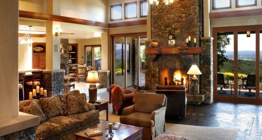 Country Living Room Ideas Warm Natural Impression