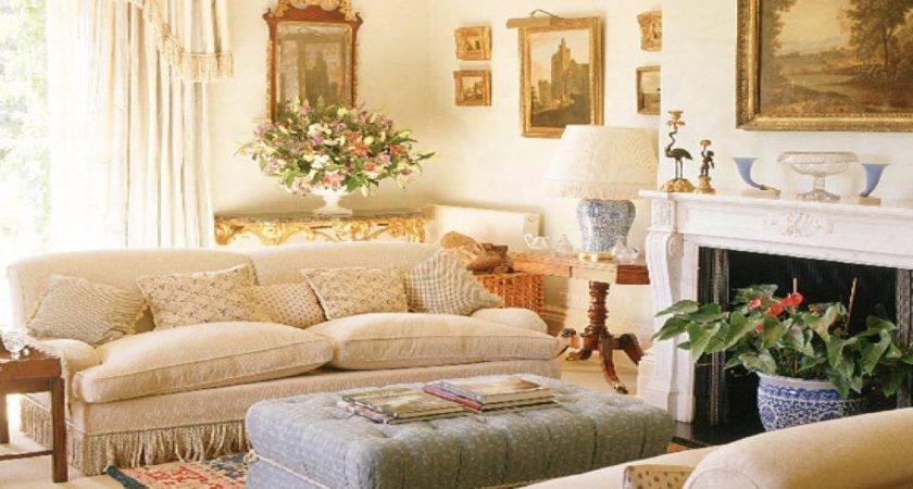 Country Style Living Room Designs