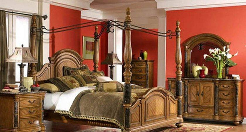 Couple Bedroom Furniture Romantic Tuscan Style