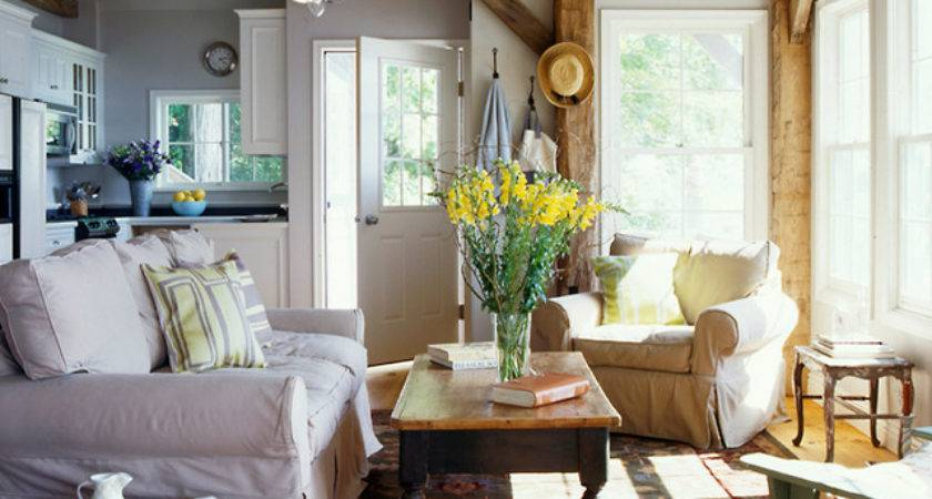 Cozy Cottage Living Room New York Energy