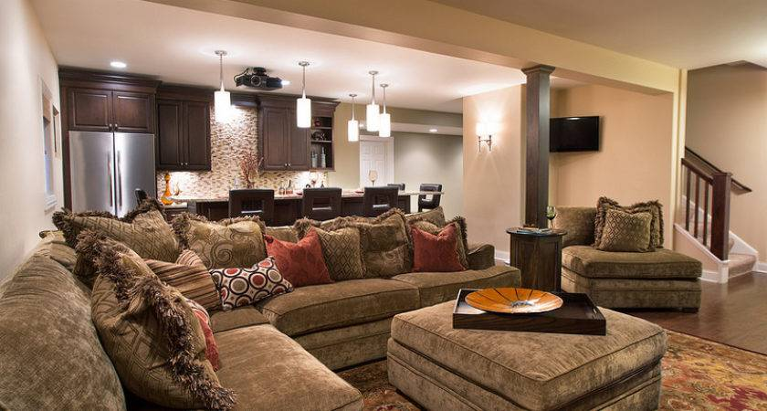 Cozy Home Theater Touches
