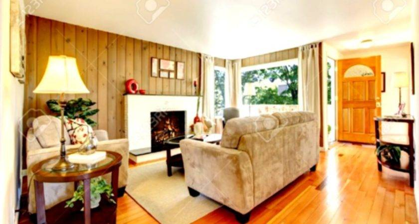Cozy Living Room Fireplace Traditional Furniture