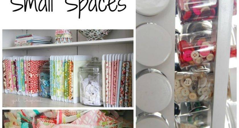 Craft Supply Storage Small Spaces Frazzled Joy