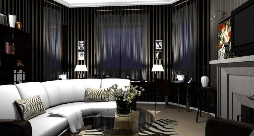 Creating Art Deco Living Room