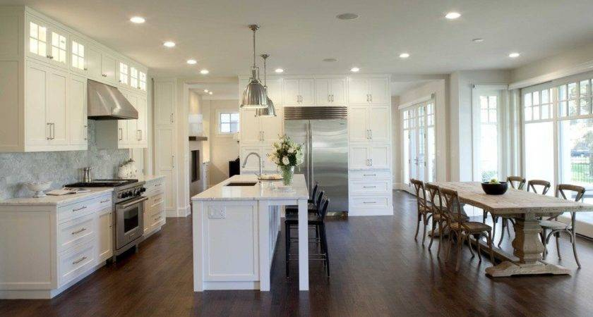 Creating Open Kitchen Dining Room