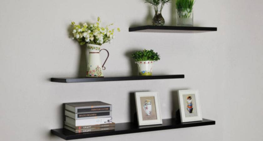 Creating Unique Designs Floating Shelves Home