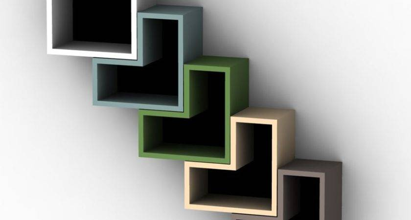 Creative Bookshelves Modern Modular