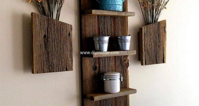 Creative Design Ideas Wall Shelves Diy Motive