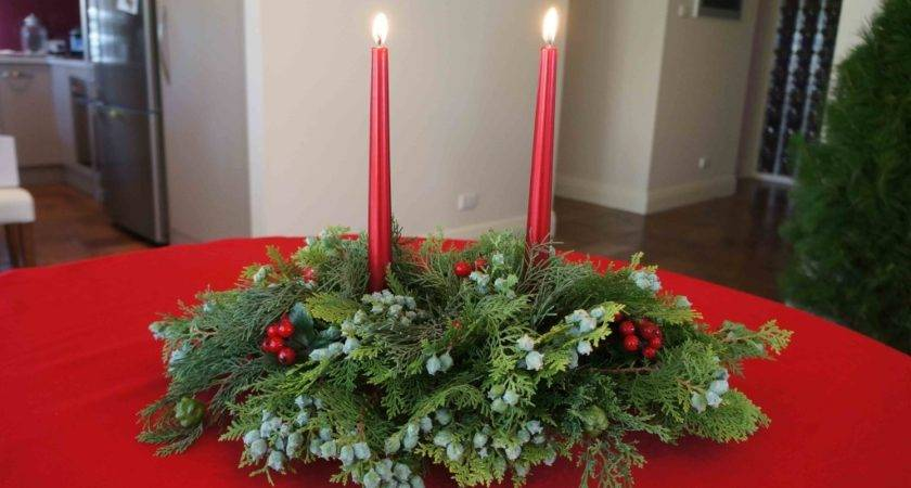 Creative Glass Gifts Christmas Table Centrepieces
