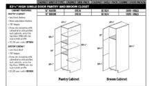 Creative Kitchen Pantry Cabinet Sizes Your
