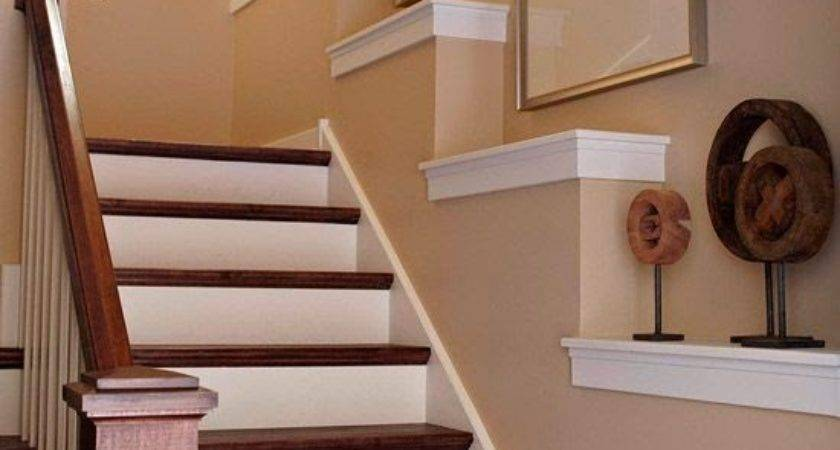 Creative Staircase Wall Decorating Ideas Art Frames ... on Creative Staircase Wall Decorating Ideas  id=98071