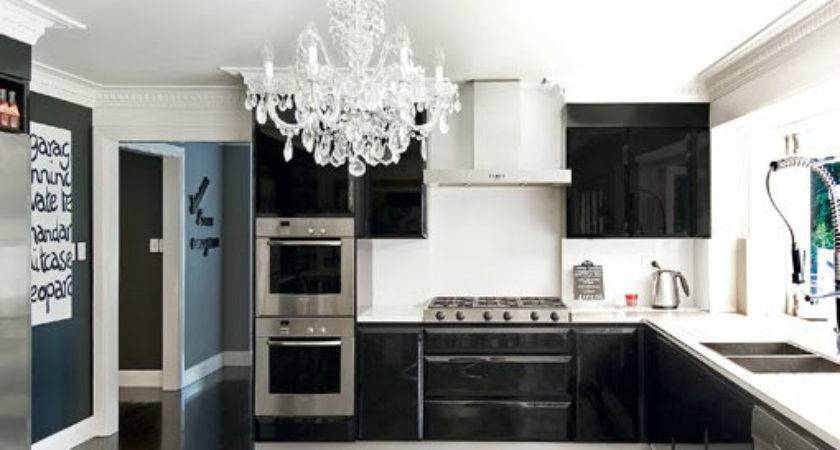 Crystal Chandelier Kitchen Decoholic