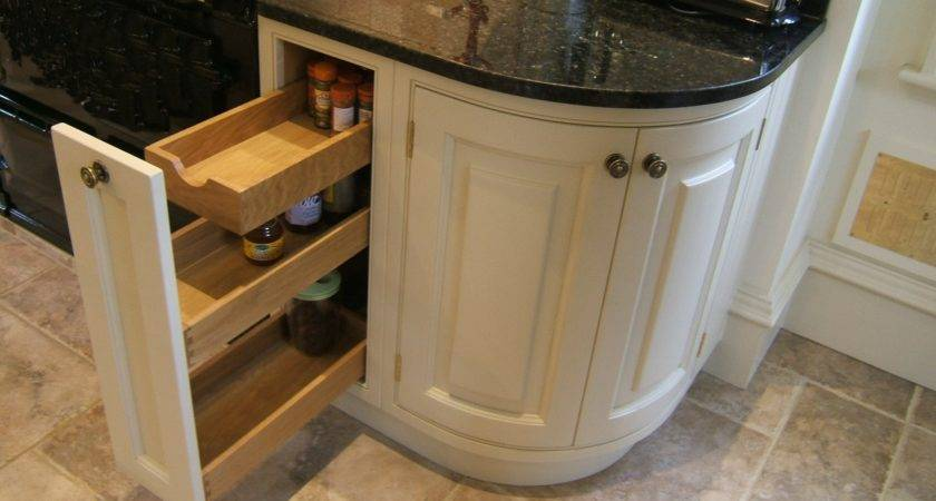 Curved Kitchen Cabinets Best Solution