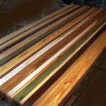 Custom Reclaimed Wood Countertops Dollars
