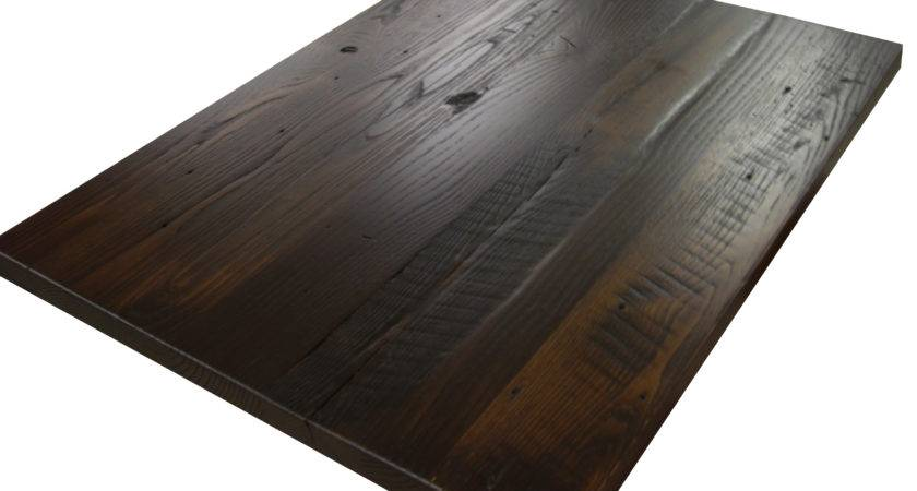 Custom Stained Reclaimed Wood Countertops Blog