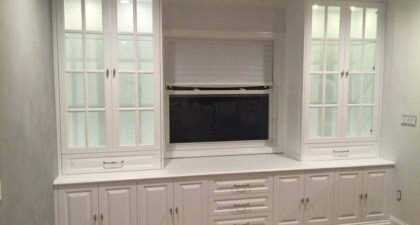 Custom Wall Units Dining Room Miami Spears