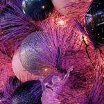 Cute Ideas Purple Christmas Tree Decoration Happy